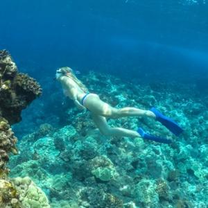 Freediving Wahine