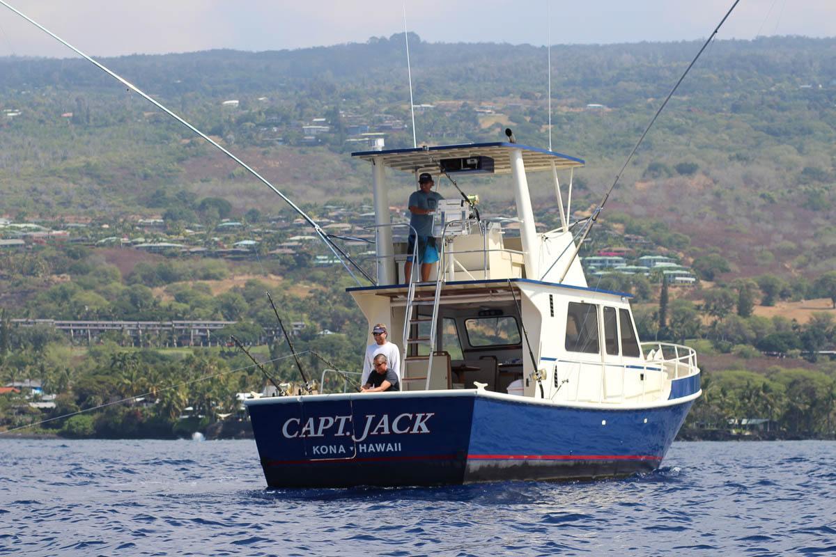 Kona sportfishing charters fair wind cruises for Kona hawaii fishing